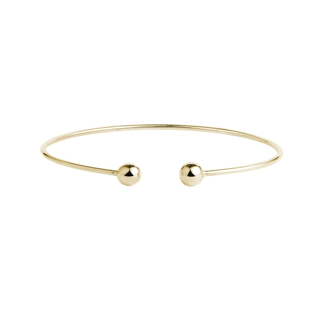 Flexi-Armband in Gelbgold