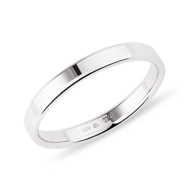 14k white gold wedding ring