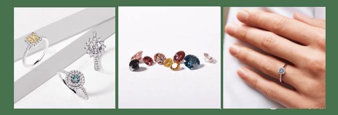 Goldschmuck mit Diamanten - KLENOTA