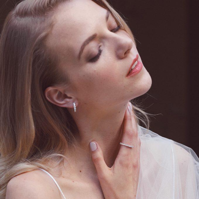 Diamentowa biżuteria dla panny młodej - KLENOTA