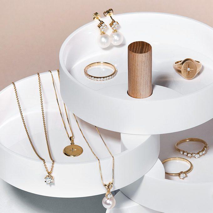 storage of gold jewelry - KLENOTA