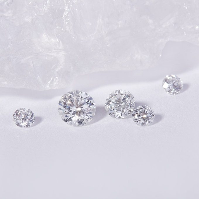 Natürliche Diamanten - KLENOTA