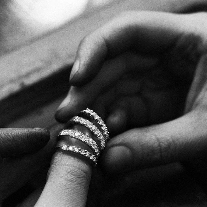 Złote pierścionki z brylantami - KLENOTA