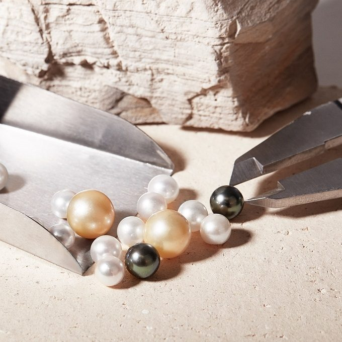 Various types of pearls - KLENOTA