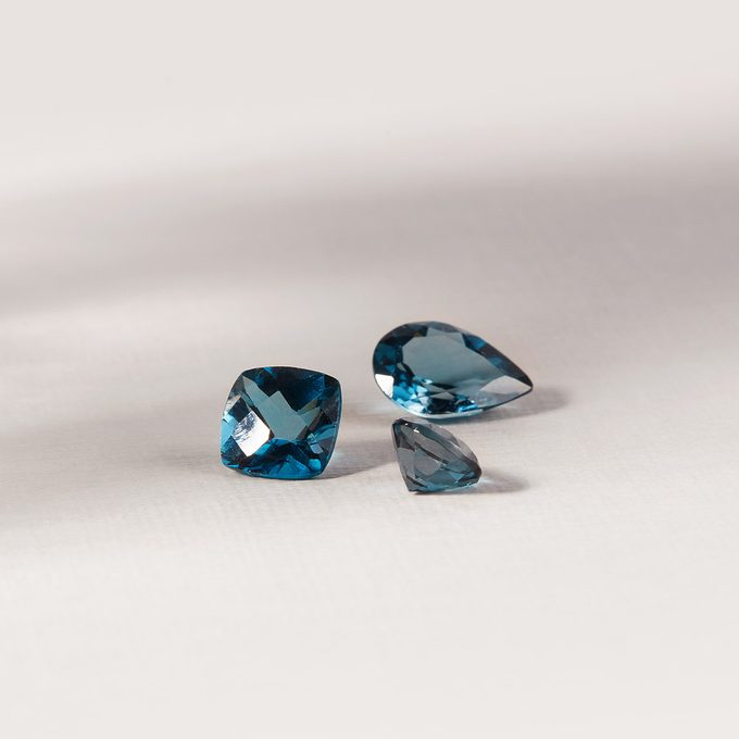 KLENOTA modré diamanty