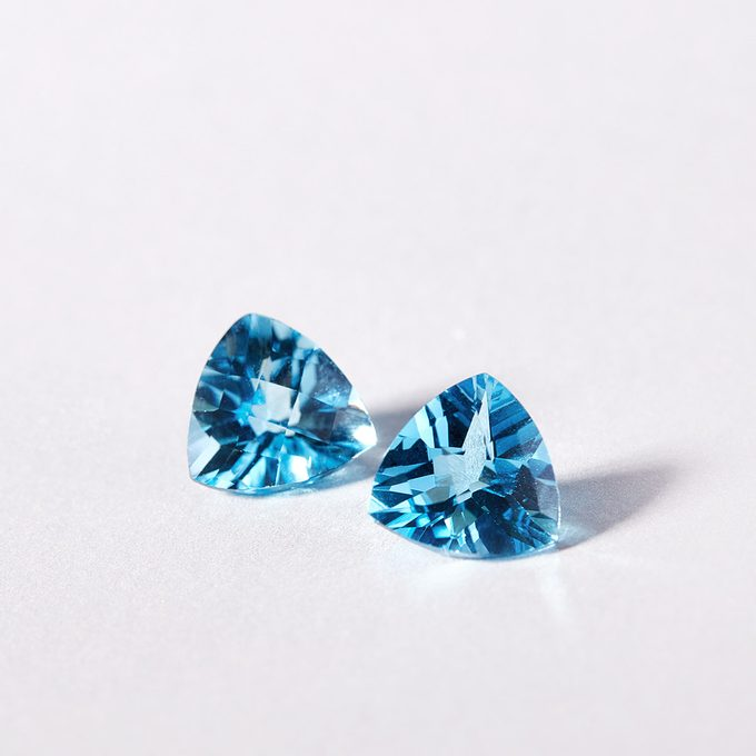 Swiss blue topaz - KLENOTA