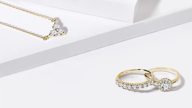 6052b0873 Prohlédnout prsteny · Diamantové šperky Překvapte zářivými diamanty  PROHLÉDNOUT
