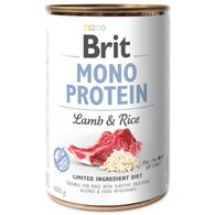 Konzerva BRIT Mono Protein Lamb & Brown Rice 400g