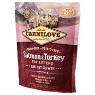 CARNILOVE Kittens Salmon and Turkey Healthy Growth 400g
