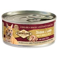 Konzerva CARNILOVE Chicken & Lamb for Adult Cats 100g