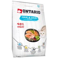 ONTARIO Cat Hair & Skin 2kg