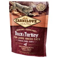 CARNILOVE Duck and Turkey Large Breed Cats Muscles, Bones, Joints 400g