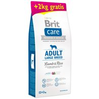 BRIT Care Dog Adult Large Breed Lamb & Rice 12+2 kg ZDARMA 14kg