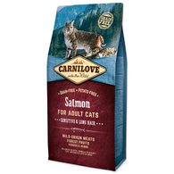 CARNILOVE Salmon Adult Cats Sensitive and Long Hair 6kg