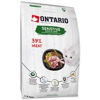 ONTARIO Cat Sensitive / Derma 6,5kg