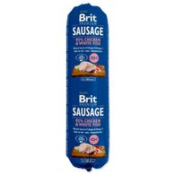 Salám BRIT Premium Dog Sausage Chicken & White fish 800g