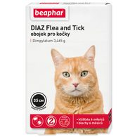 Obojek antiparazitní BEAPHAR DIAZ Flea and Tick 35 cm