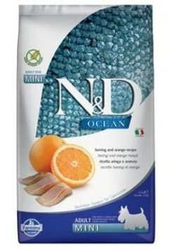 N&D OCEAN DOG GF Adult Mini Codfish & Pumpkin & Orang - 800 g