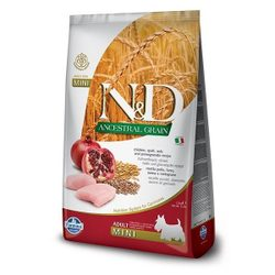 N&D GF DOG Adult Mini Chicken & Pomegranate - 800 g