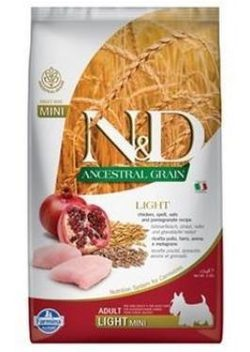 N&D LG DOG Light S/M Chicken & Pomegranate - 800 g
