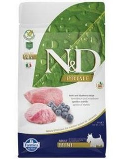 N&D PRIME DOG Adult Mini Lamb & Blueberry - 800 g