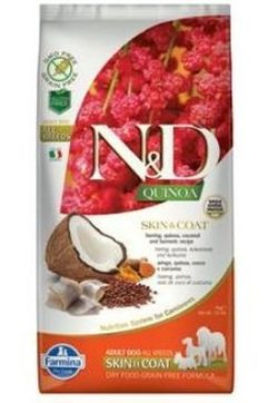 N&D GF Quinoa DOG Skin & Coat Herring & Coconut - 800 g