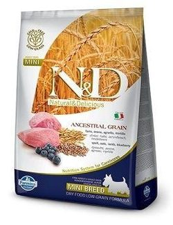 N&D LG DOG Adult Mini Lamb & Blueberry - 7 kg