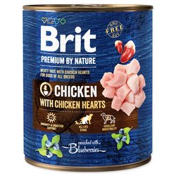 BRIT Premium by Nature Chicken with Hearts 800g