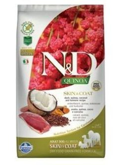 N&D GF Quinoa DOG Skin & Coat Duck & Coconut - 7 kg