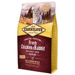 CARNILOVE Fresh Chicken & Rabbit Gourmand for Adult cats 2kg