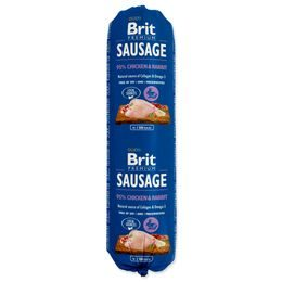 Brit Sausage Chicken x Rabbit 800g