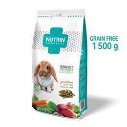 NUTRIN Complete Králík Vegetable - GRAIN FREE 1500