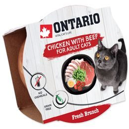 Kalíšek ONTARIO Fresh Brunch Chicken with Beef 80g