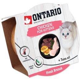 Kalíšek ONTARIO Fresh Brunch Kitten Chicken 80g
