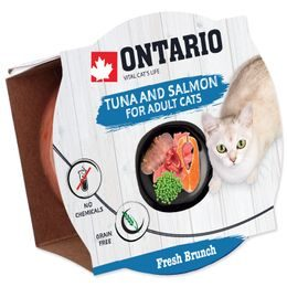 Kalíšek ONTARIO Fresh Brunch Tuna & Salmon 80g