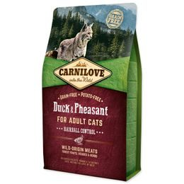 CARNILOVE Duck and Pheasant Adult Cats Hairball Control 2kg