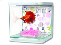 Akvárium MARINA Betta Kit Floral (2l)