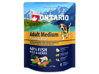ONTARIO Adult Medium Fish & Rice (0,75kg)