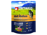 ONTARIO Adult Medium Lamb & Rice (0,75kg)