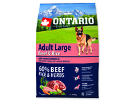 ONTARIO Adult Large Beef & Rice (2,25kg)