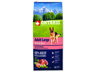 ONTARIO Adult Large Beef & Rice (12kg)