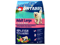 ONTARIO Adult Large Fish & Rice (2,25kg)