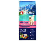 ONTARIO Adult Large Fish & Rice (12kg)