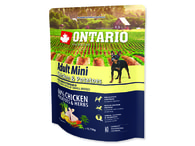 ONTARIO Adult Mini Chicken & Potatoes & Herbs (0,75kg)