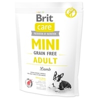 BRIT Care Dog Mini Grain Free Adult Lamb (400g)