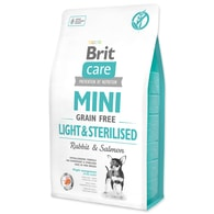 BRIT Care Dog Mini Grain Free Light & Sterilised (2kg)