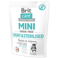 BRIT Care Dog Mini Grain Free Light & Sterilised (400g)