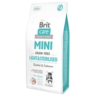 BRIT Care Dog Mini Grain Free Light & Sterilised (7kg)