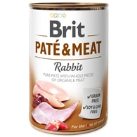 BRIT Paté & Meat Rabbit (400g)