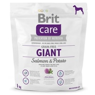 BRIT Care Grain-free Giant Salmon & Potato (1kg)